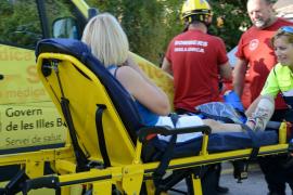 Rescatan a una excursionista que se rompió la pierna en Andratx