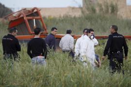 El conductor de una segadora halla junto a Son Banya un cadáver en descomposición