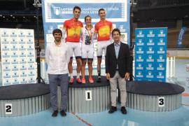 Dos oros para Albert Torres en la primera jornada del Campeonato de España de Ciclismo en Pista