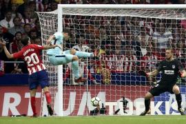 Suárez sujeta al Atlético