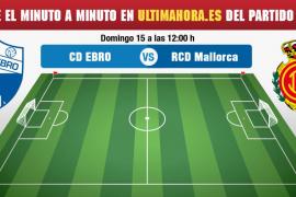 Ebro-Real Mallorca, en directo