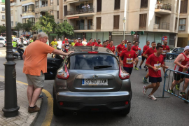 La Palma Marathon Mallorca provoca retenciones de tráfico en diferenes puntos de la ciudad