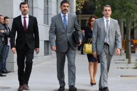 Trapero declara en la Audiencia Nacional vestido de paisano