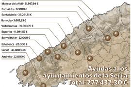El Consell da más de 277.000 euros a los ayuntamientos para el patrimonio de la Serra