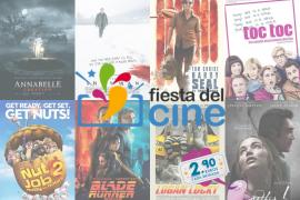 Ocho salas de Mallorca celebran la decimotercera edición de la Fiesta del Cine