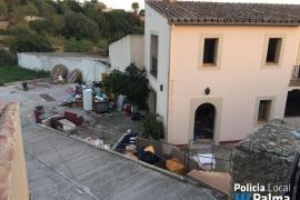 Detienen en Palma a un hombre por ocupar ilegalmente una casa y enfrentarse a la policía