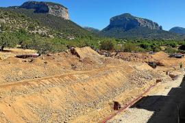 Las obras sin acabar de la calle Solleric cuestan al Ajuntament de Alaró 60 euros diarios