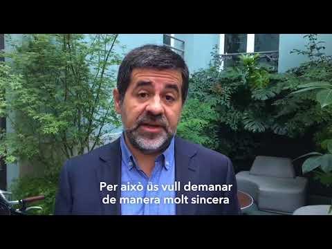 Sánchez pide en un vídeo grabado responder con «unidad y civismo» a la juez