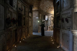 El cementerio de Palma abre sus puertas de noche para las visitas guiadas de Carlos Garrido