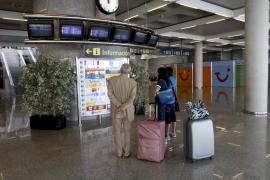 El tráfico de pasajeros cayó un 6,6 % en marzo en el aeropuerto de Palma