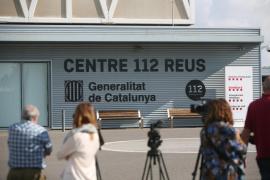 Registro en la sede del 112 en Reus en busca de grabaciones de los Mossos d'Esquadra durante el 1-O