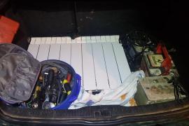 Detenido en Manacor por robar cableado y otros objetos en un recinto de reciclaje