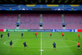 El Barça desplegará este miércoles una pancarta e invitará al palco a ANC y Òmnium