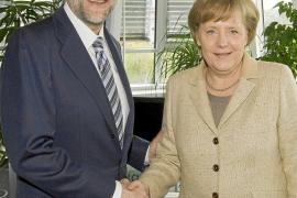 Rajoy explica a Merkel sus propuestas para la estabilidad presupuestaria