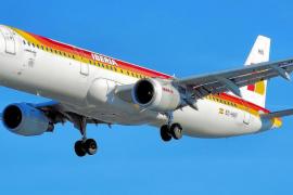 Iberia, después de 76 años, realiza el sábado su último vuelo en Balears