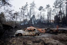 Todos los incendios forestales de Galicia ya están bajo control