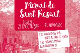 Canamunt celebra una nueva edición del Mercat de Sant Rescat