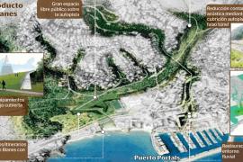 Calvià propone soterrar la autopista a su paso por Costa de'n Blanes y Portals Nous