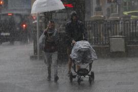 Incidentes causados por las lluvias y tormentas en Mallorca