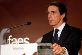 Aznar rechaza reformar la Constitución: «No debe ser el pago a plazos al secesionismo catalán»