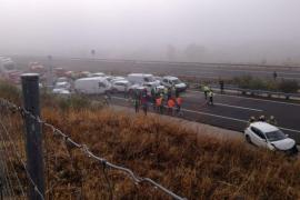 Un fallecido y 15 heridos en un accidente múltiple en Galisteo con 45 vehículos implicados