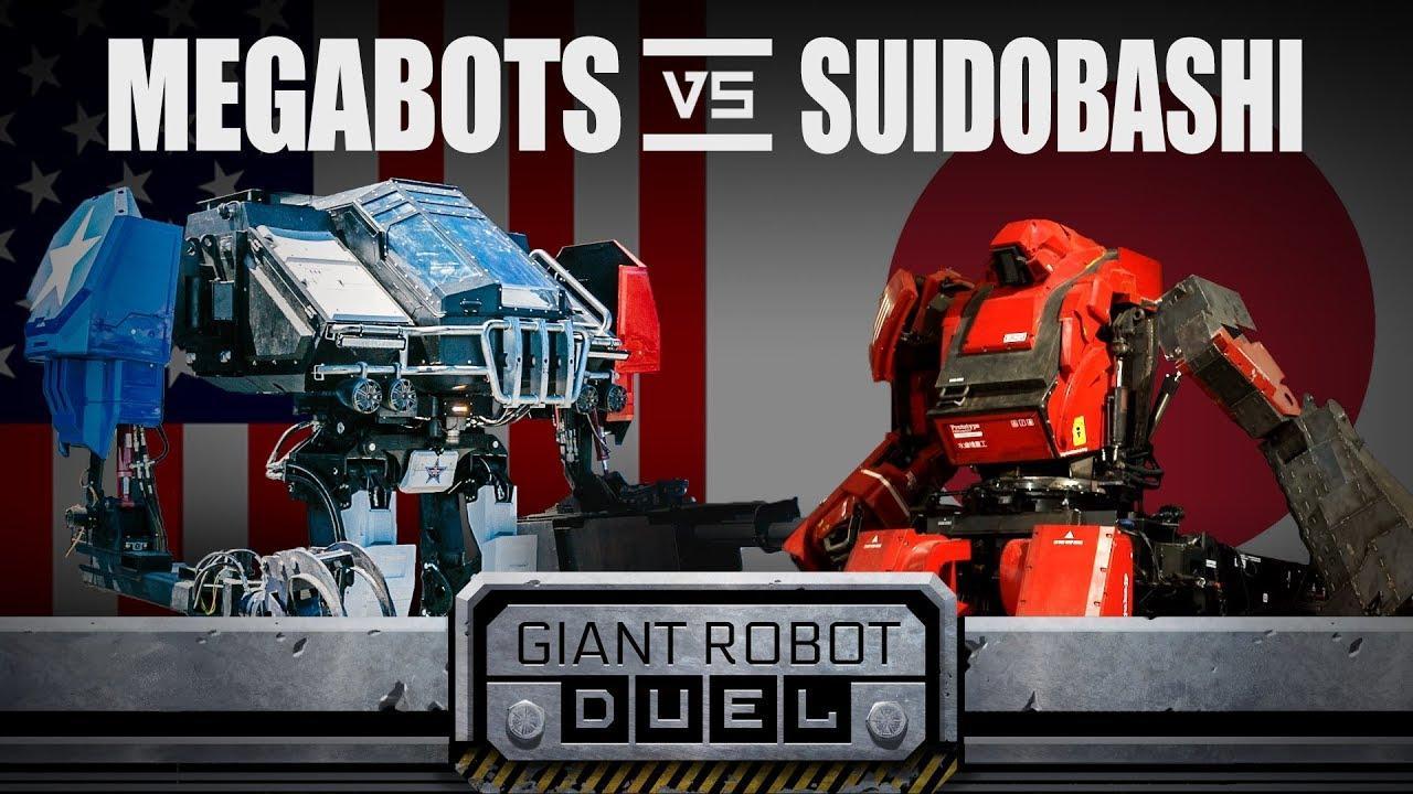 EEUU y Japón se enfrentan en una lucha de robots gigantes