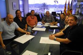 Comerciantes y restauradores colaborarán para potenciar la actividad económica de Sant Antoni