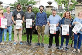 Lanzan una campaña comercial en sa Pobla para incentivar el uso correcto del catalán