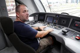El maquinista del tren incendiado en Palma: «Vivimos momentos de pánico»