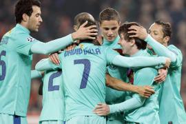 El Barça sale indemne de Donetsk y aguarda otro posible clásico (0-1)