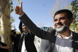 Jordi Sánchez alega que se esforzó para que la concentración ante Economía fuera pacífica