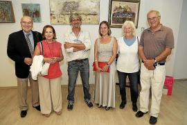 Exposición solidaria de Monsina Rosselló