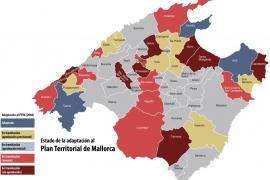 Sólo tres municipios han adaptado su planeamiento al Plan Territorial de Mallorca