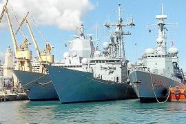 Una flotilla de la OTAN visita Palma