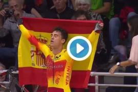 El menorquín Albert Torres revalida el título de campeón de Europa en omnium