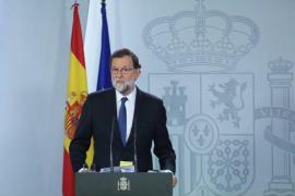 El Gobierno propone el cese de Puigdemont y de todos sus consellers