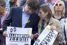 Forcadell: «Rajoy ha anunciado un golpe de estado 'de facto'»