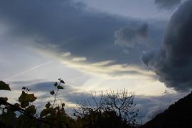 Domingo de lluvias fuertes en Mallorca