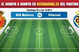 Real Mallorca-Villarreal B, en directo