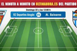 Deportivo Aragón-Atlético Baleres, en vivo