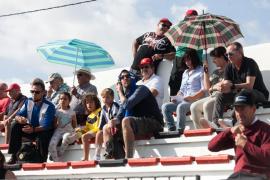El partido entre el Formentera y el Hércules, en imágenes .