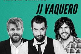 El humor de Dani Mateo, Raúl Cimas y J.J Vaquero sobre el escenario de Trui Teatre