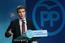 Casado (PP) confía poco en un paso de Puigdemont que haga replantear el 155