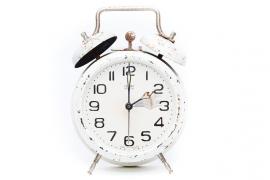 La madrugada del domingo a las 3.00 serán las 2.00, terminando con el horario de verano