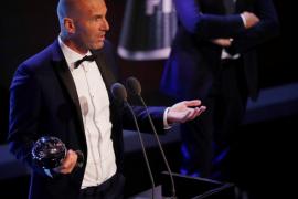 Zidane: «No se si me merezco el premio pero si me lo han dado es por algo»
