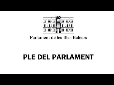 EN DIRECTO: El Parlament acoge el debate anual de política general del Govern