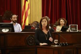Armengol: «Las instituciones ya no están para reñir sino para escuchar a los ciudadanos»