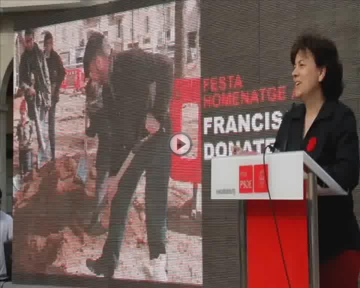El PSIB recuerda a Francisco Donate destacando su «compromiso y voluntad de trabajo»