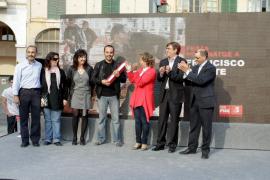 PALMA LOCAL HOMENAJE A PACO DONATE EN PORTA DE SANTA CATALINA FOTO MI
