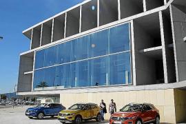 Volkswagen indigna a los transportistas en la presentación de su coche en Palma